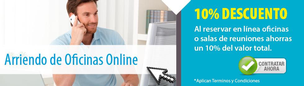 Arriendo de Oficinas Online